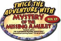 The ClueFinders The Mystery of the Missing Amulet Pc New Cd In Paper Sleeve XP