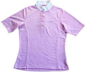 Musto Ladies Equestrian Short Sleeve Stock Shirt Bubblegum Pink