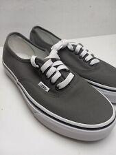 Vans Authentic Pro Lace Low Gray Womens Sz 8.5 Mens 7 Shoes a1