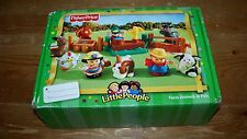 Fisher Price Little People Farm Animals & Pals Set NEW in Box G8669 2004 NRFB