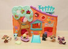 Lot de 6 Figurines Petshop + Maison Auberge + Accessoires - Ex E. LPS Chien
