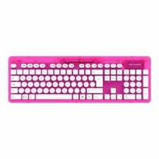 PC Wireless Tastatur - Rock Candy, Pink (B-Ware)
