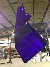 CANDY TRANSLUCENT PURPLE and METALLIC SILVER Powder Coating Paint (PACKAGE DEAL)