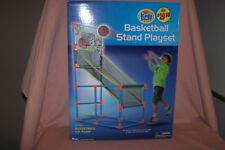 Kids Stuff Basketball Playset – Stand & Ball & Pump New in Box Ages 5+ Gift It!