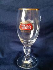 Stella Artois Gold Rimmed 15 Cl Chalice Glasses - Set Of 6 NEW Beer Belgium
