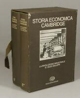 PRL) ENCICLOPEDIA 1974 STORIA ECONOMICA CAMBRIDGE 6 EINAUDI EDITORE 2 VOLUMI