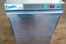 More details for prodis j35 undercounter commercial glass washer with gravity drain