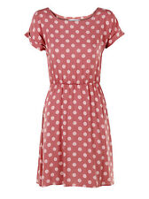 Round Neck Spotted Dresses for Women