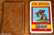 DCO18 CITADEL COMBAT CARDS x36 EPIC BATTLE WARHAMMER BOX OK