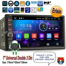 2 Din Autoradio Android 8.1 Double GPS Navigatore DAB+Wifi BT DVR TNT TPMS 3970F