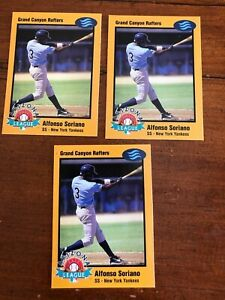 3 Alfonso Soriano 1998 Arizona Fall League Prospects-Gold  #16  Awesome Look