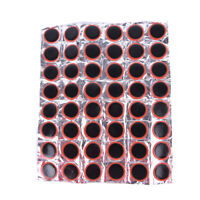 48Pcs 30mm Round Bicycle Tyre Puncture Patch Tyre Inner Tube Prick Repair Pafw