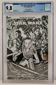 Star Wars Adventures #2 Retailer Incentive RI IDW 2021 CGC Graded 9.8 Pop 1
