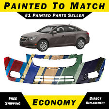 NEW Painted To Match - Front Bumper Cover Replacement For 2011-2014 Chevy Cruze