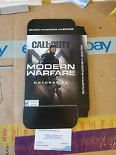 """Call of Duty modern warfare (2019) Display Box Rare! Double-sided Pop Out 6""""×11"""""""