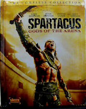 Spartacus: Gods of the Arena - Complete Collection (Blu-ray, 2011, 2-Disc) NEW