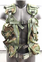 US Military Enhanced Tactical Load Bearing Vest Woodland Camo #8415-01-296-8878
