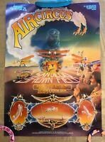Air Circus San Diego - Brown Field, National Air Festival 1981, Vintage Poster