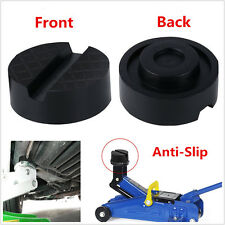 1pc Anti-Slip Slotted Frame Rail Floor Jack Disk Pad for Pinch Weld Side JACKPAD