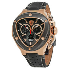 Tonino Lamborghini Spyder Black Dial Chronograph Mens Watch 3110