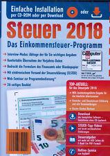 Aldi -Steuer CD 2018, Elster Einkommensteuer, Programm ,NEU, OVP