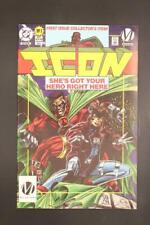 ICON # 1 - NEAR MINT 9.6 NM - First Issue Collector's Item! DC Comics
