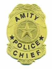 AMITYVILLE HORROR POLICE BADGE PATCH - AVH1