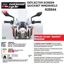 HONDA VT1300CX  2010-15 FURY NAT. CYCLE DEFLECTOR QUICKSET WINDSHIELD N25044