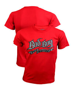 Bad Boy Pro Series Youth Shirt. RED Kids UFC MMA BJJ Revgear Combat Triumph