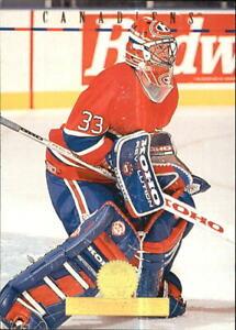 1994-95 Leaf Canadiens Hockey Card #41 Patrick Roy