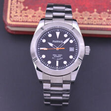 40mm Parnis Sapphire glass Luminous Miyota mechanical Automatic mens watch