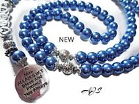 PERSONALISED TASBEEH ,33,99,55100 BEAD SELECT FROM OVER 30 SHADES ,SENTIMENTAL