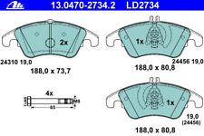 Bremsbelagsatz Scheibenbremse ATE Ceramic - ATE 13.0470-2734.2
