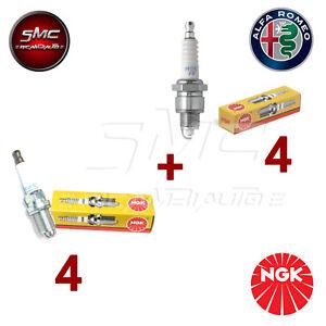 KIT 8 CANDELE NGK ALFA ROMEO 145 146 147 156 166 GTV MOTORI TWIN SPARK 16V