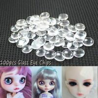 Glass Eye Chips For Blyth Dolls Gem Crafts DIY Modified Doll Eye Accessories New