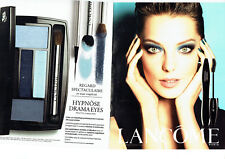 Publicité Advertising 087  2013  Lancome  maquillage  Daria  mascara hypnose (2p