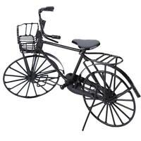 1:12 Miniature Metal Bike  Bicycle Doll House Dollhouse Decoration XOZV