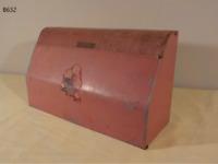 Vintage 1950's Metal Wax Paper Dispenser PINK