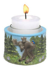 Free Ship New Big Sky Carvers Bearfoots Moose Mickeys Guest Votive Candle Holder