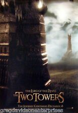 Lord Of The Rings 22x34 Two Towers Theatrical Art Movie Poster 2002