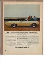 1966 BUICK SKYLARK GRAN SPORT 2 DOOR 325 HP WILDCAT V-8 ENGINE AD PRINT H227