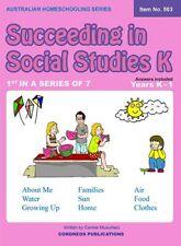 Succeeding in Social Studies Kindergarten