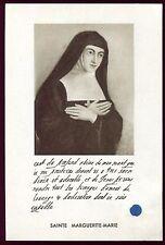 image pieuse santini holy card relique Sainte Marguerite-Marie