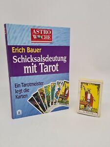 Rider Tarot - Der Magier - Arthur Edward Waite 1971 + Buch von Astro Woche