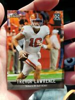 2021 LEAF iCard - TREVOR LAWRENCE XRC #16 ROOKIE FOOTBALL CARD - (In Hand)