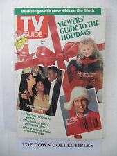 TV Guide  Dec- 1-7 1990  Chevy Chase In Christmas Vacation/New Kids On The Block