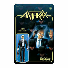 Anthrax Among The Living Super 7 ReAction Action Figure New