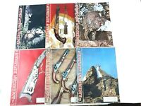 Lot of 6 American Rifleman Magazines 1962 Jan - Jun  NRA Hunting Outdoors