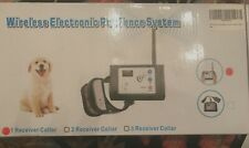 Antedea Wireless Electronic Pet Fence System: 1 Receiver Collar opened box