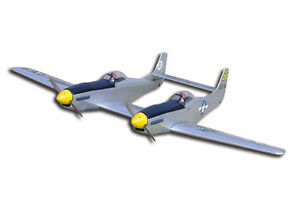 1/12 Scale North American Ww-II F-82 Twin Mustang Plans and Templates 51ws